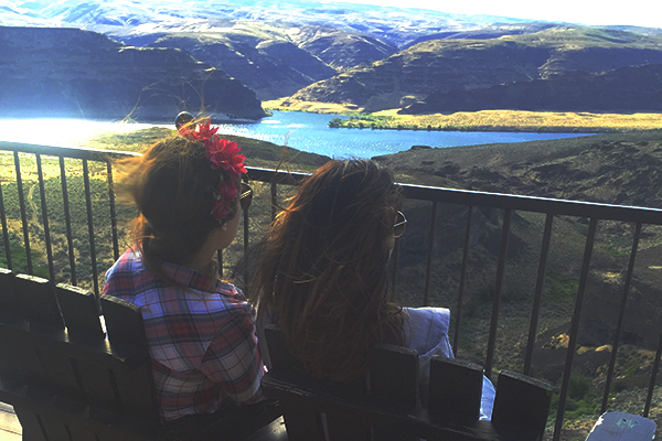 The Gorge Amphitheatre View Bar - Paradiso 2016