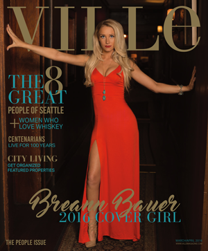 2016 March/April People Issue - Ville Magazine Cover Girl Search Breann Bauer