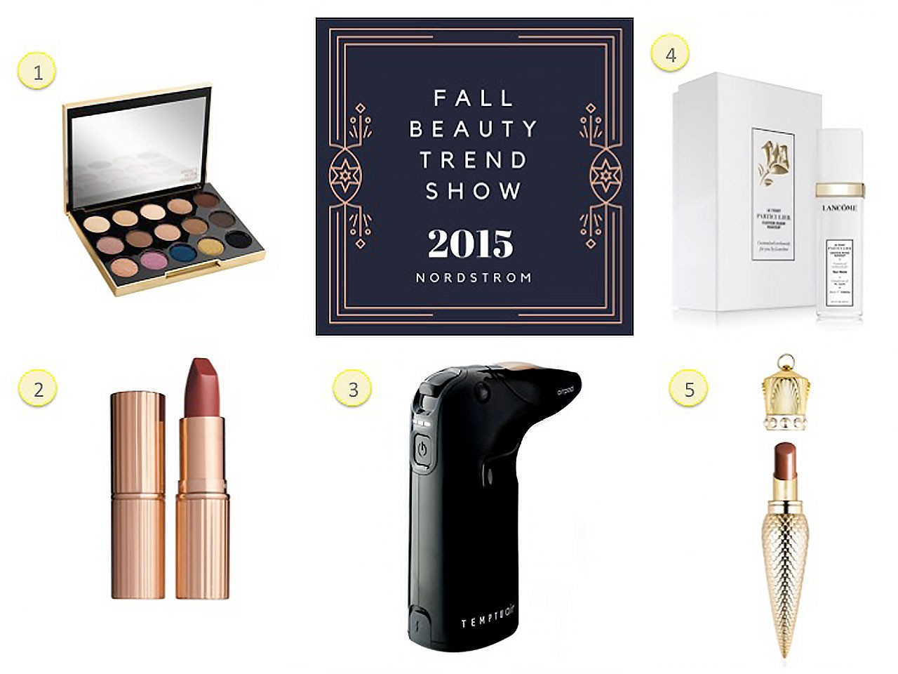 Top 5 Products from the Nordstrom Fall Beauty Trend Show