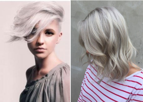 Silver Gray Hair Color