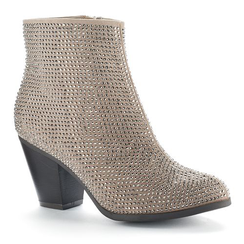 Juicy Couture Metallic Bootie