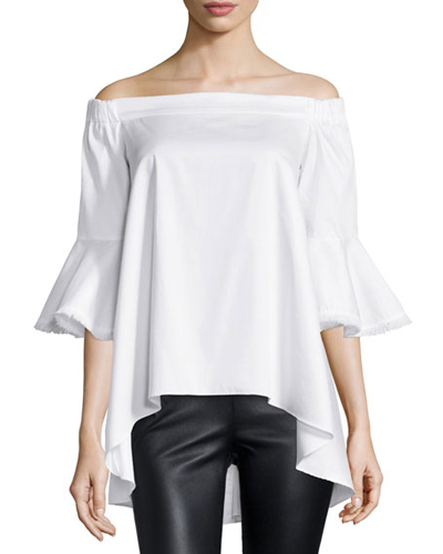 Bell Sleeve Top - 2016 Fashion Spring Trends