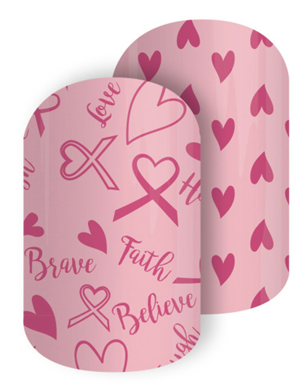 Jamberry Nail Wraps Breast Cancer