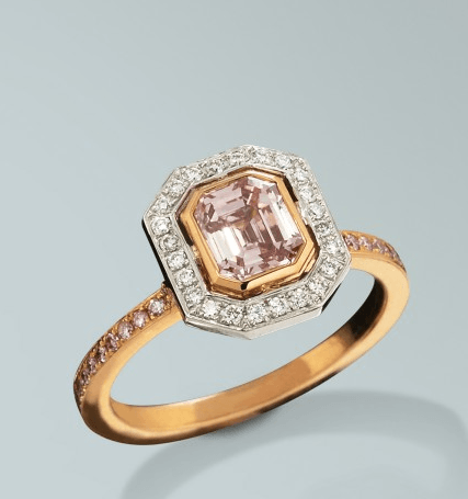 Natural Fancy Pink Diamond Turgeon Raine