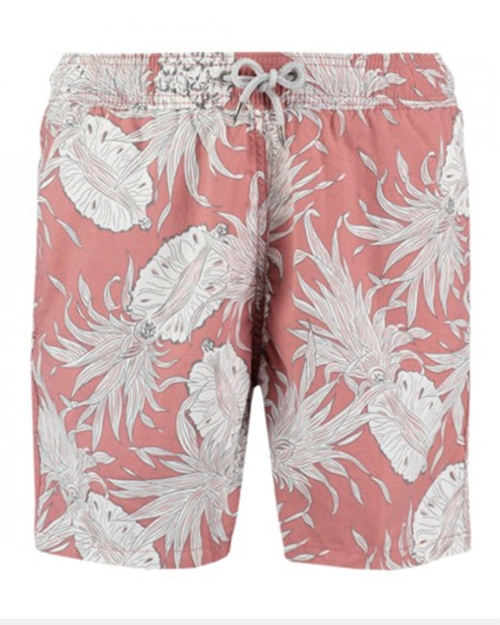 Airesford Linen Company Pineapple Punch swim trunks