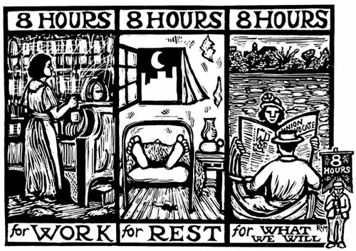 May Day 8 Hours Labor Rights