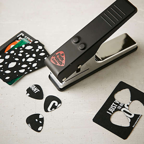 guitar pick puncher urban outfitters