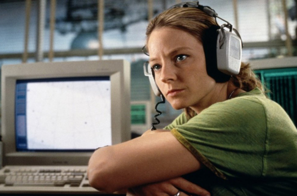 Jodi Foster in Contact