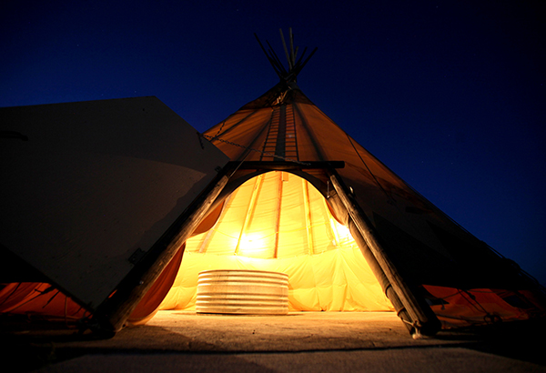 Crystal Crane Hot Springs Teepees