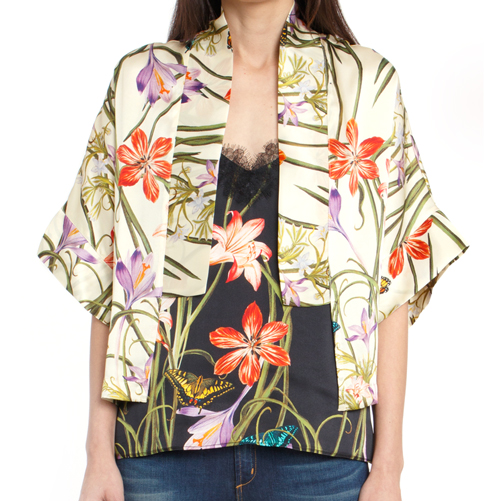 The Kimono + Botanical Ivory - Hark and Hammer