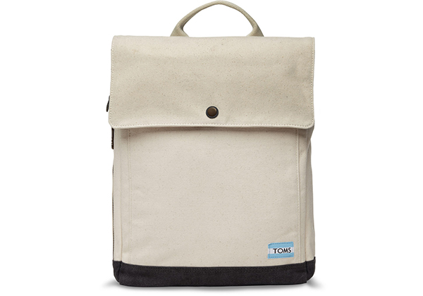 Tom's Natural Canvas Trekker Backpack